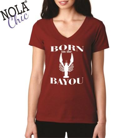 Born on the Bayou Shirt Prepack