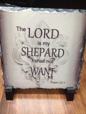 Psalm 231 plaque - 3 Pieces
