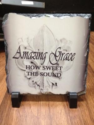 Amazing Grace Plaque - 3 pieces