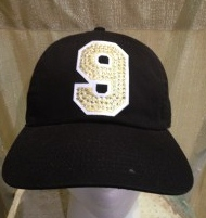Jersey Number Hat Black