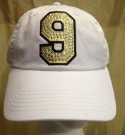 Jersey Number White Hat