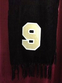 Number 9 Jersey Scarf